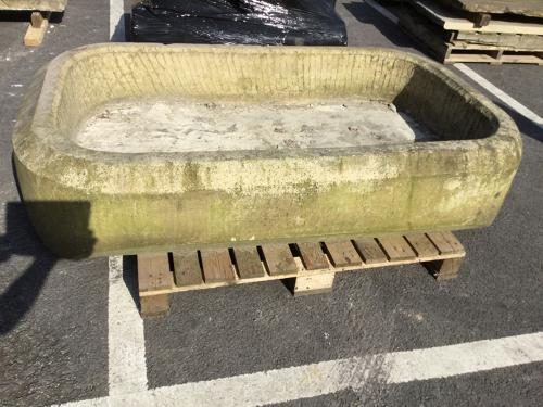 RECLAIMED SAND STONE TROUGH