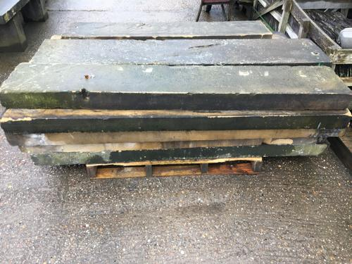 ANTIQUE YORKSHIRE STONE STEPS STAIRCASE