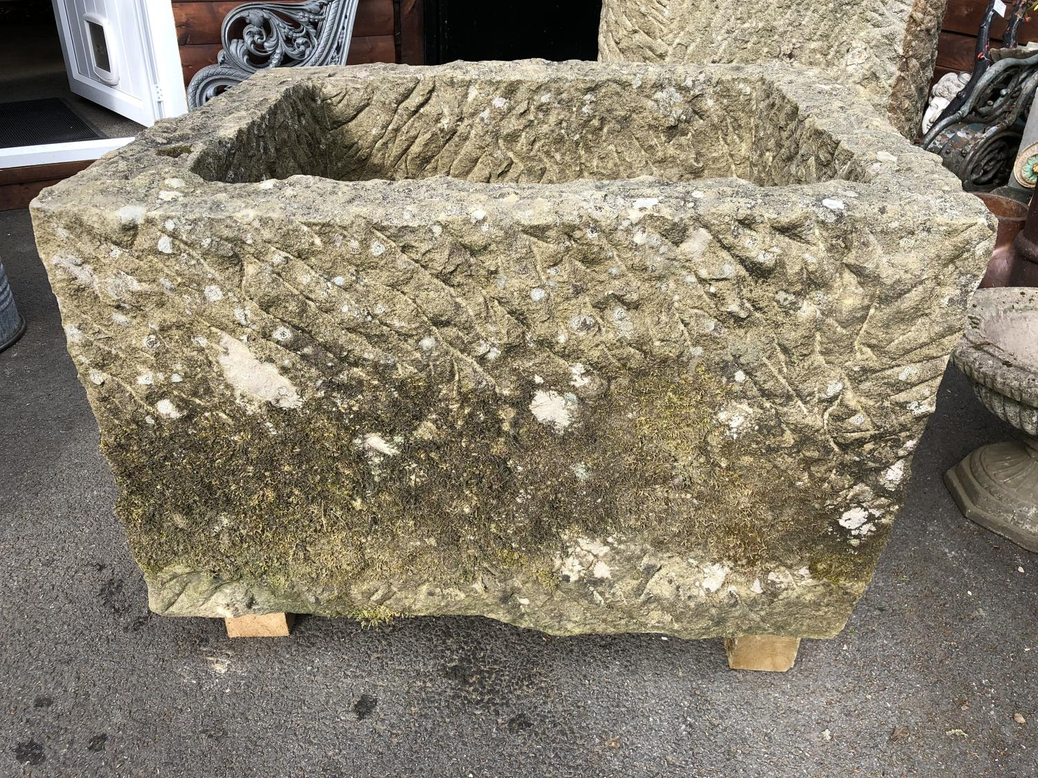 YORKSHIRE SAND STONE HORSE TROUGH