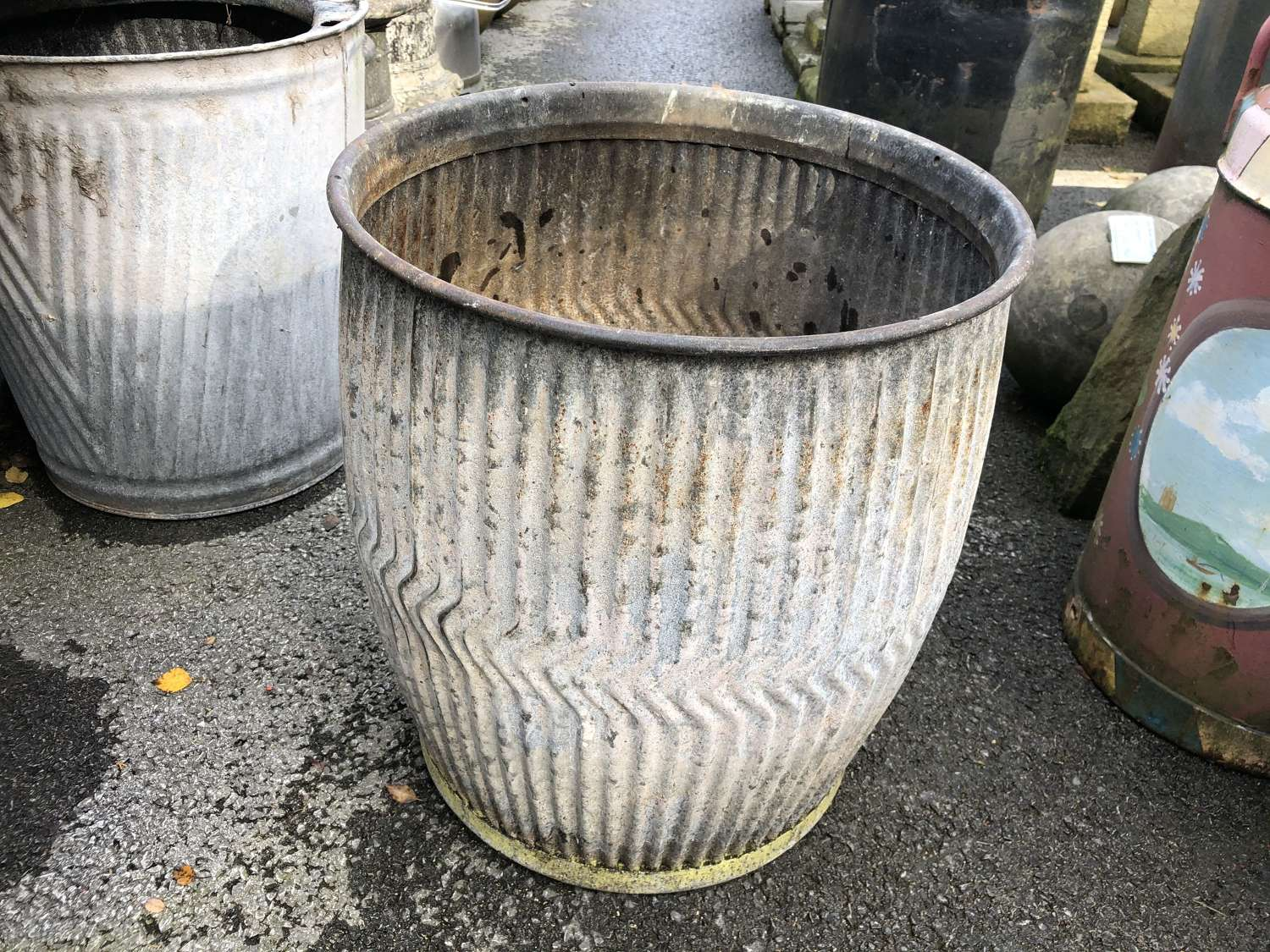 GALVANISED DOLLY TUB