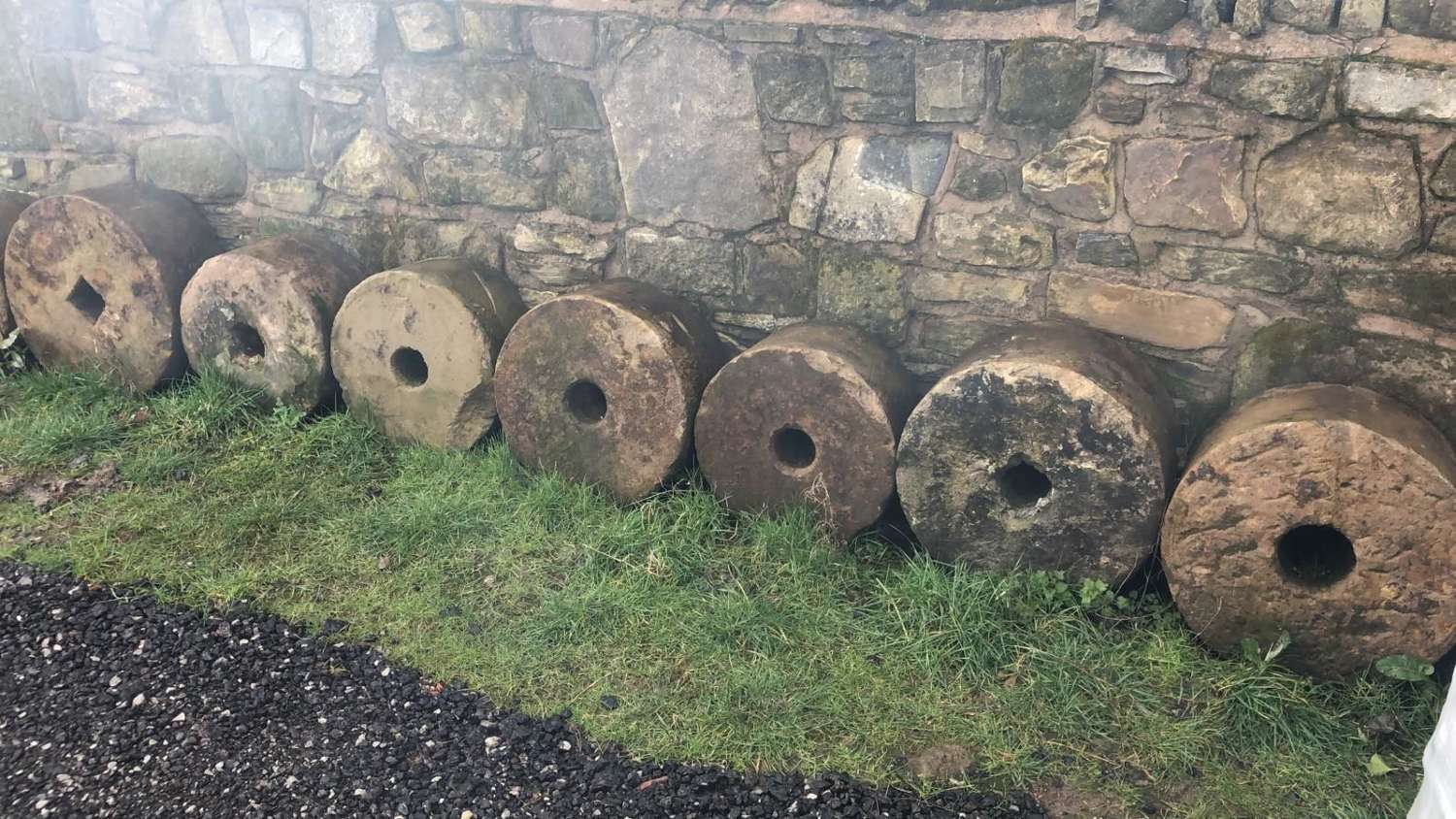 Antique Yorkshire Mill Stones