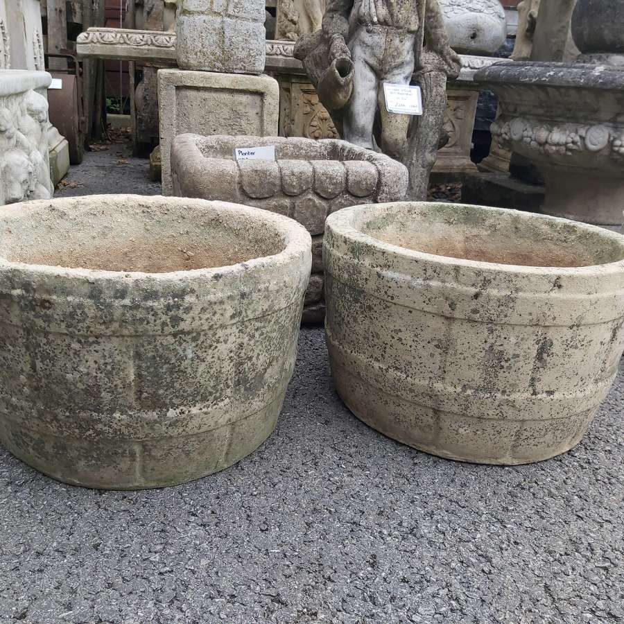 COMPOSITE  BARRELL PLANTER