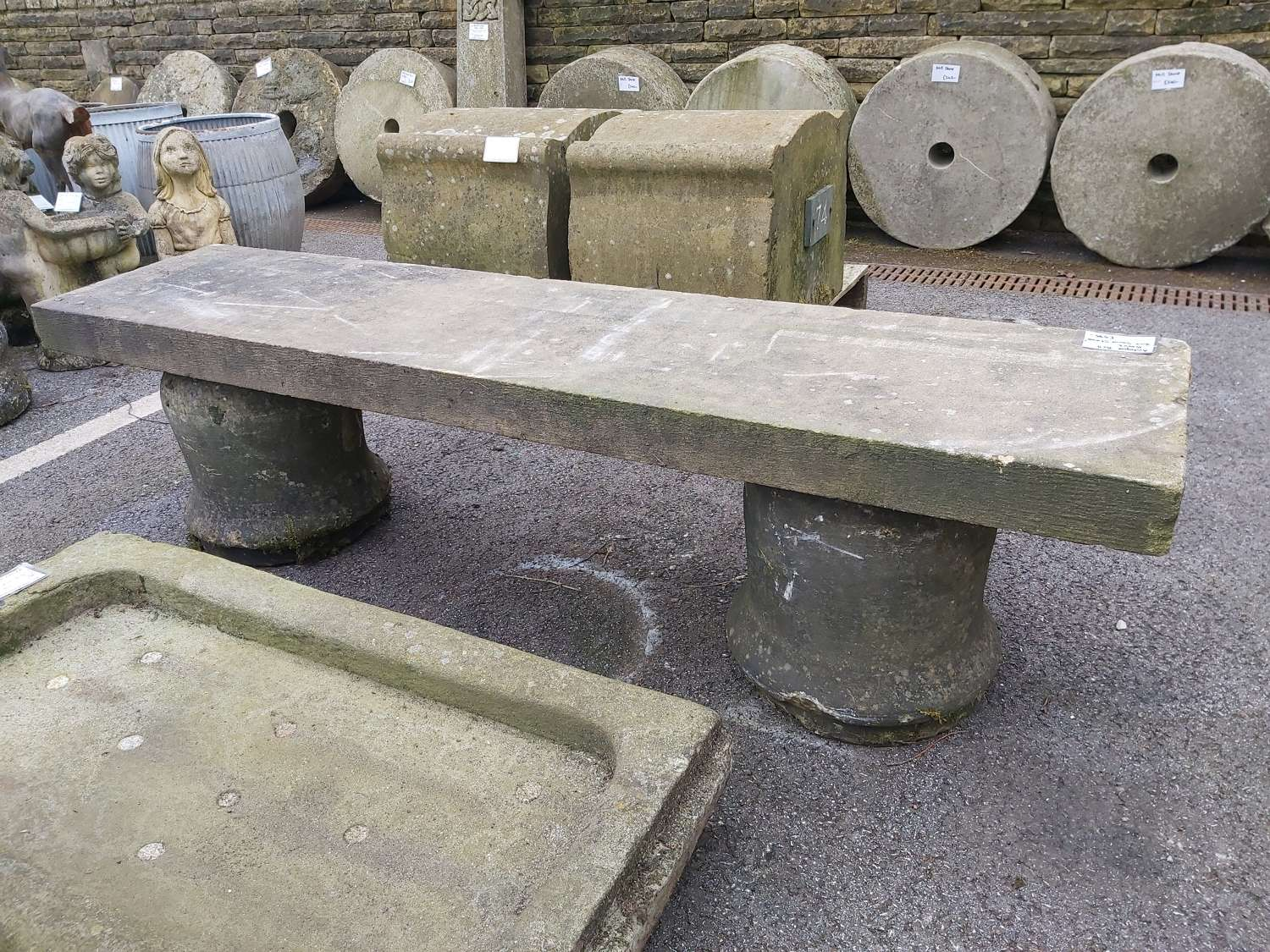 ANTIQUE BELL BENCH